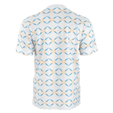 RETRO ROCKET PATTERN MEN'S T'SHIRT