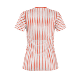 R44 RED PATTERN WOMEN'S T'SHIRT