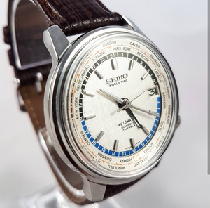 1964 Seiko 6217-7000 Olympic World Time