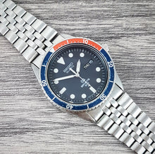 1985 Seiko SQ Sports 100 Pepsi 5H23-7A9A Quartz
