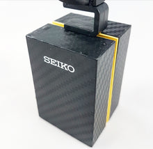 Seiko Dealer's Display Stand - Black Carbon Fibre - Medium
