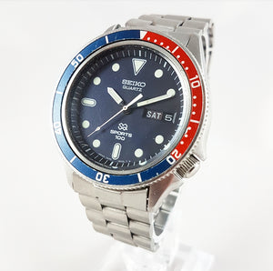 1979 Seiko SQ Sports 100 Pepsi Quartz