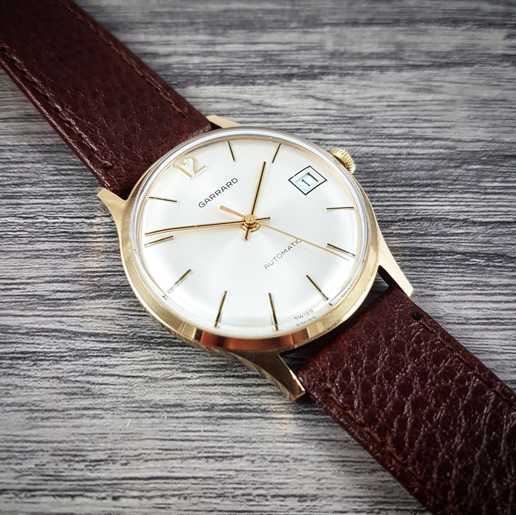 1979 Garrard Presentation Watch 9ct Gold