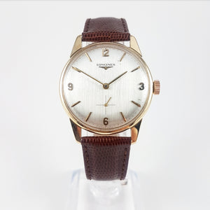 1970 Longines 9ct Gold Presentation Watch (Cal. 370)