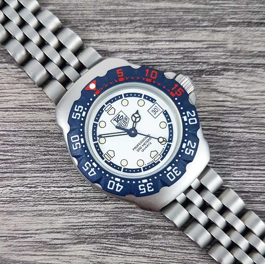 1990s Tag Heuer Professional Formula 1 Quartz Ladies