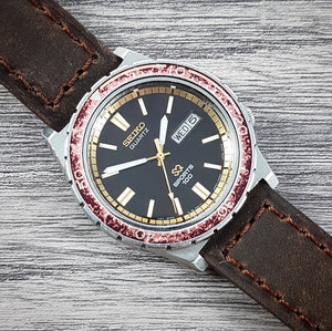 1982 Seiko Quartz SQ Sports 100 7123-823B 'Root Beer'