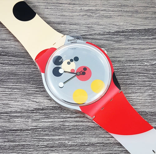 Swatch x Damien Hirst 'Mirror Spot Mickey' New Old Stock