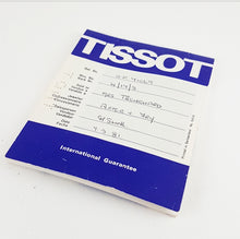 Original Tissot Watch Papers/Booklets