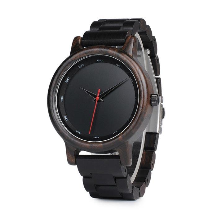 Ebony Wood Watch