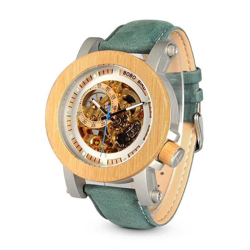 Bamboo Mechanical Watch