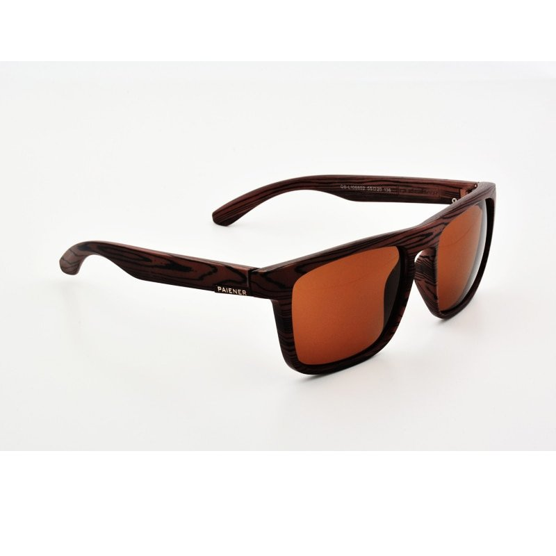Mens Sport Wooden Sunglasses