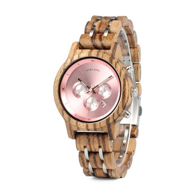 Stylish Wooden Watch for a Woman