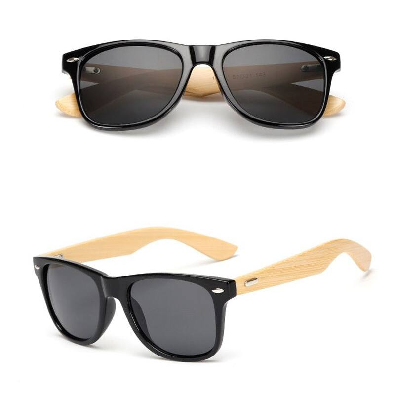 Vintage Style Bamboo Wooden Sunglasses