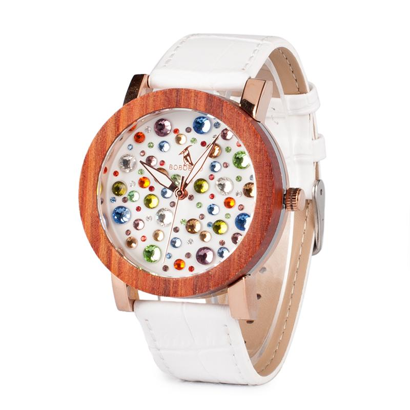 Women Watch with Colorful Gems