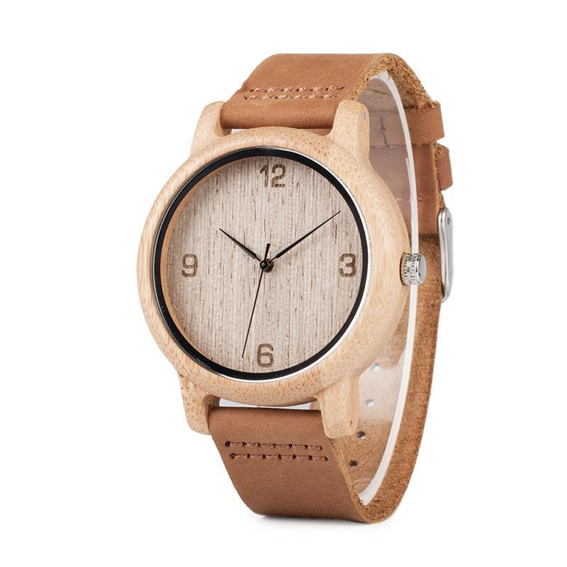 Womens Casual Bamboo Watch