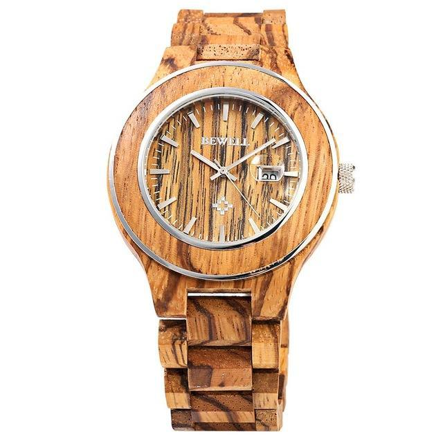 Wooden Sport Watch Men from BEWELL