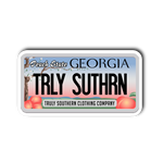 Georgia License Plate Sticker