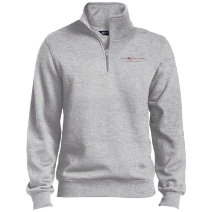 Athletic Heather Truly Southern 1/4 Zip Sweatshirt