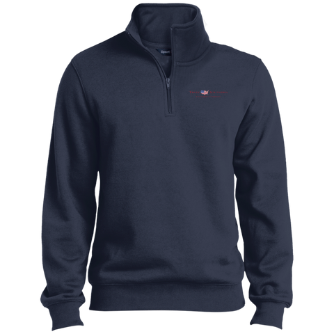 Navy Blue Truly Southern 1/4 Zip Sweatshirt