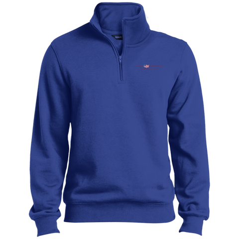 Royal Blue Truly Southern 1/4 Zip Sweatshirt
