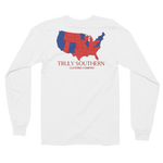 Red and Blue States Long Sleeve Tee