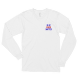 Blue Lives Matter Long Sleeve Tee