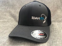 Idaho Ice Flexfit Charcoal/Navy Blue