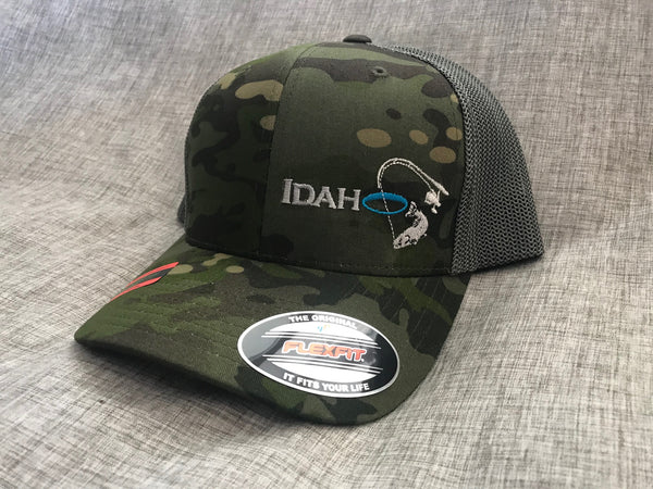 Idaho Ice Flexfit Green Camo