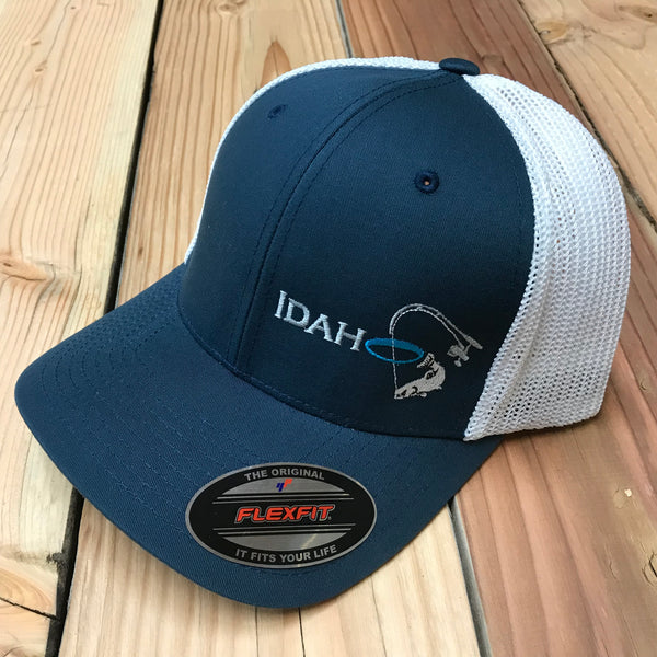 Idaho Ice Flexfit Navy/White