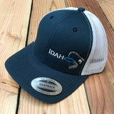 Idaho Ice SnapBack in Navy/White