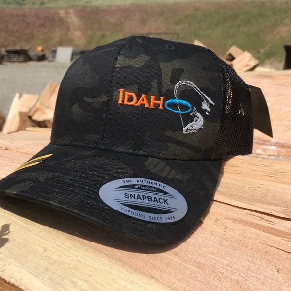 Idaho Ice SnapBack in Dark Camo