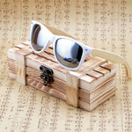 Mens Wooden Polarized Sunglasses