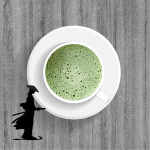 Why did samurai drink matcha?