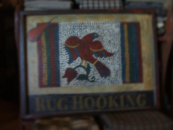 Hand-Painted Rug Hooking Signs