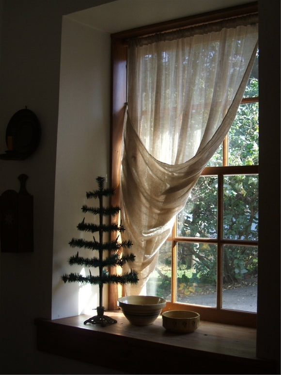Tobacco Cloth Curtains