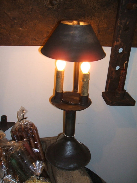 Tin Lamp w/Shade