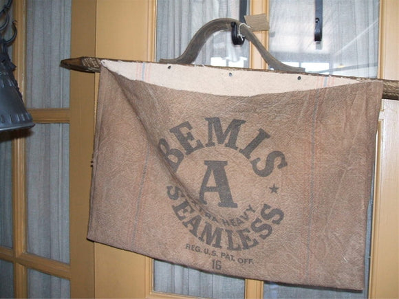 Primitive Feedsack Bags