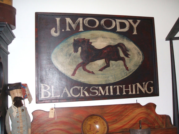 J Moody Tavern Sign