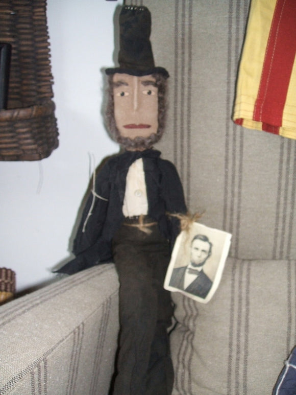 Abe Lincoln Doll