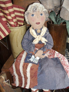 Hand-Made Betsy Ross Doll