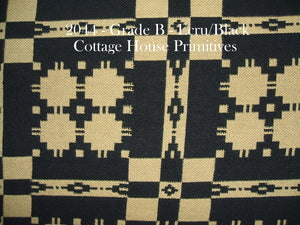 Coverlet - Ecru/Black
