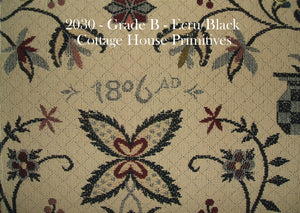 1806 Tapestry - Ecru/Black
