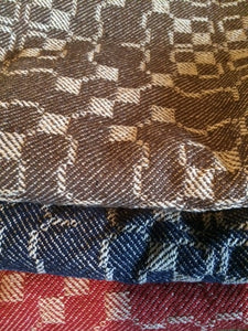 historic woven table square pattern by  jacob angstadt