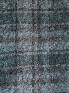Blue-Grey Muted Plaid