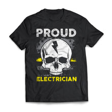 Proud Electrician Flag
