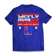 VOTE MCFLY BROWN