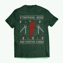 Tee Strippers Beer Festive Cheer
