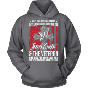 Jesus Christ And The Veteran