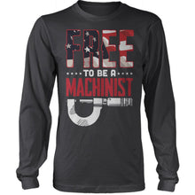 Free To Be A Machinist