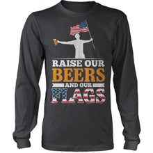 Raise Beers And Flags
